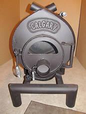 Канадская печь CALGARY Буллер тип 00 дверка со стеклом, фото 2