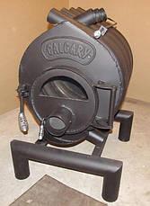 Канадская печь CALGARY Буллер тип 00 дверка со стеклом, фото 3
