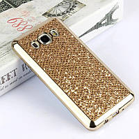 Чехол для Galaxy J7 2016 / Samsung J710 Luxury Gold