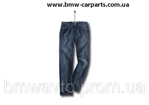 Джинсы унисекс BMW Motorrad Logo Jeans, Unisex, Blue, фото 2