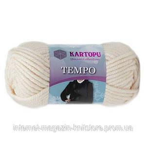 Пряжа Kartopu Tempo кремовый