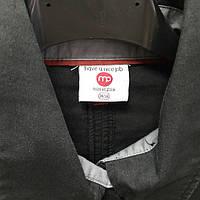 Рубашка мужская чёрная хлопковая, фото 1