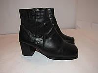 Hush Puppies_Португалия- кожа-стильные ботинки 38р_ст.24см H76