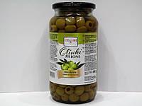 Оливки зелёные без косточки Helcom 900г.