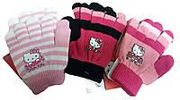 Перчатки Kitty  для девочек, Setino, арт. 800-122