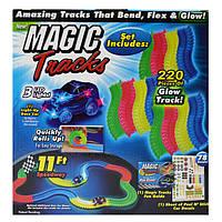 Трек Magic Track светящийся 220 деталей