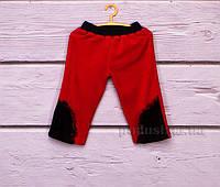 Штаны трикотажные детские Niso Baby 1112 красные 98