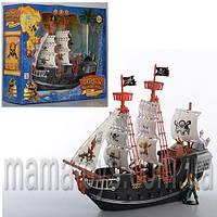 Пиратский Корабль M 0516 U/R. 38 см, фигурки 2 шт Пираты Черного моря