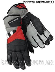 Женские мотоперчатки BMW Motorrad GS Dry Glove, Black/Red/Anthracite