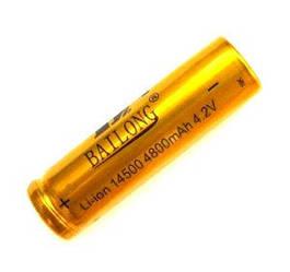 Аккумулятор Bailong Li-ion 14500 4800 mAh 4.2V
