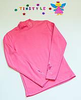 Розовый утепленный гольф на девочку  рост 158-164 см