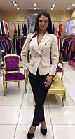 Шикарный женский турецкий пиджак копия Balmain