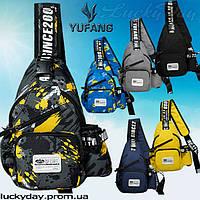 "Yufang однолямочная сумка ""через плече"""