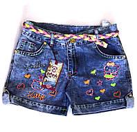 Шорты джинсовые 8, 9, 10, 11, 12 лет (6003)