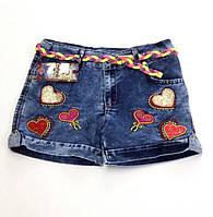 Шорты джинсовые 8, 9, 10, 11, 12 лет (6001)