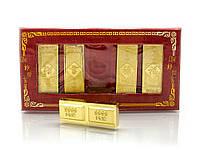 Золотые слитки  (5 шт) (14х7,5х1,5 см)