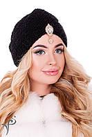 Модная вязанная шапка чалма Шахерезада