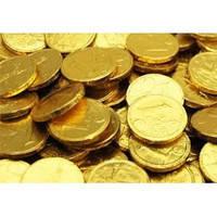Шоколадные монеты Поезд 200 шт (Prestige)