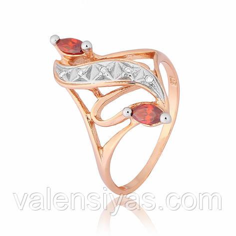 Серебряное кольцо К3ФГ/149, фото 2