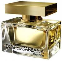Оригинал женские духи Dolce Gabbana The One 75ml edp (роскошный, таинственный, гипнотический, сексуальный)