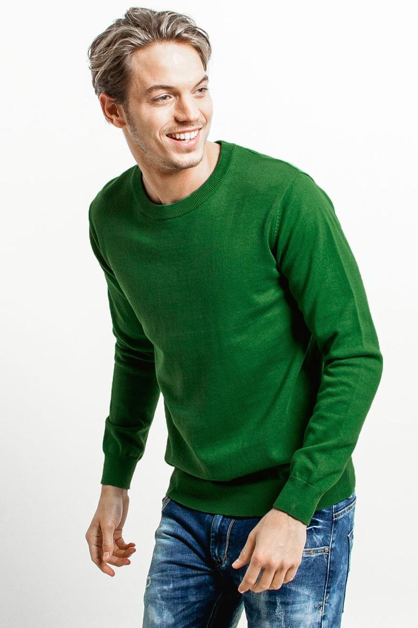 Мужской свитер ( полувер ) Зеленый