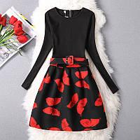 Стильное платье Lina СС7637