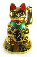 Кошка Манэки-нэко машущая лапой (батарейки в комплект не входят) (16,5х11,5х11,5 см)