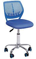 Детское компьютерное кресло JONNY blue высота кресла регулируется, компьютерное кресло на колесиках