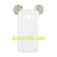 Чехол Mickey Diamond Silicon Case for Samsung A320 (A3-2017)