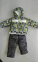 Зимний комбинезон для новорожденных мальчиков Абстракция, детские зимние костюмы опт