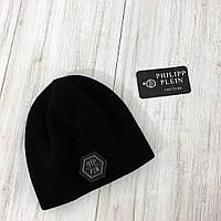 Шапка Philipp Plein D2444 черная
