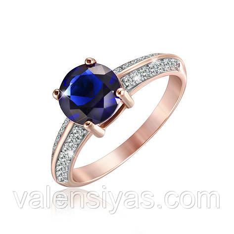 Серебряное кольцо К3ФС/240, фото 2