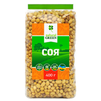 Соя органическая, ТМ Natural Green, 350 г