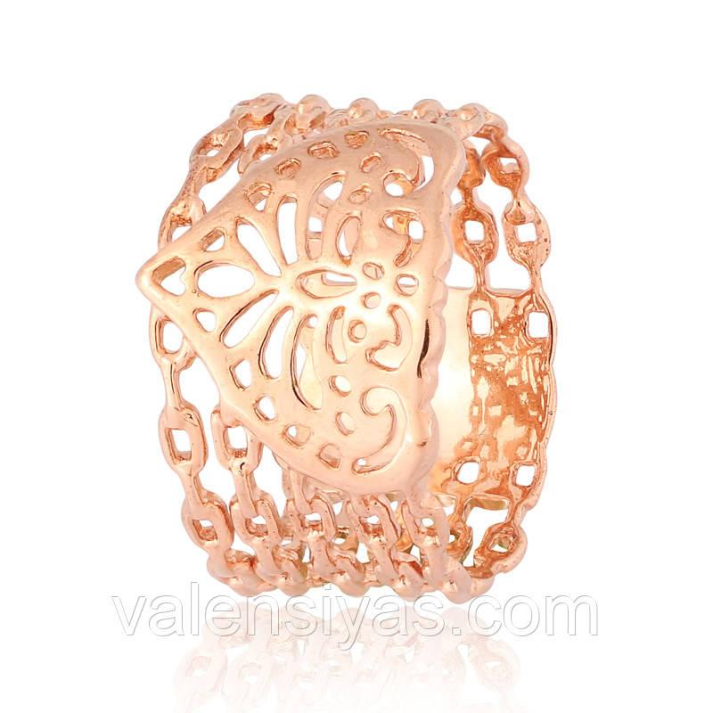 Серебряное кольцо К4/445