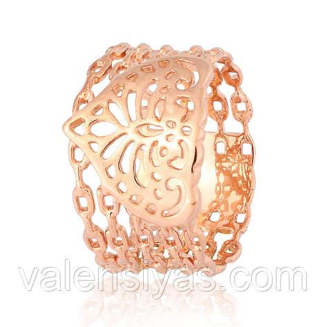 Серебряное кольцо К4/445, фото 2