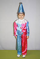 Новогодний карнавальный костюм петрушки, клоуна