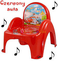 Детский музыкальный горшок Tega baby В ЦВЕТАХ!