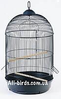 Круглая клетка для попугаев 42х77см