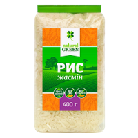 Рис жасмин, ТМ Natural Green, 400 г