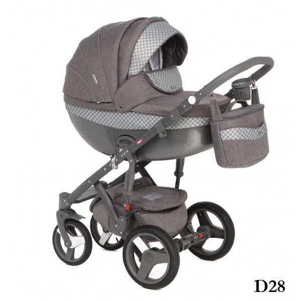 Дитяча коляска Adamex Monte Delux Carbon