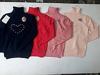 Детские теплые свитера 7-12 лет