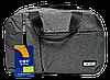 Дорожная сумка JINRONG серого цвета FТА-090061