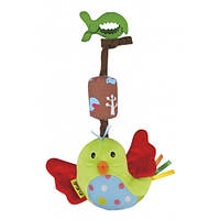 Погремушка подвеска Ks Kids Счастливая птичка 10641