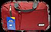 Дорожная сумка JINRONG бордового цвета FТА-090065