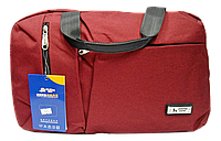 Дорожная сумка JINRONG бордового цвета FТА-090065, фото 1