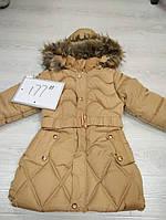 Пальто детское зимнее на девочку