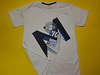 Стильная футболка из хлопка 9 - 13 лет