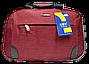 Дорожная сумка JINRONG бордового цвета ТТА-090088