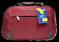 Дорожная сумка JINRONG бордового цвета ТТА-090088, фото 1