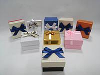 Футляры картонные для ювелирных изделий и бижутерии